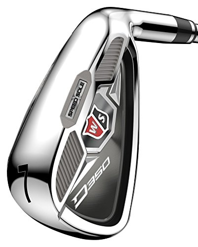 Wilson Staff D350 Golf Irons Set of Golf Clubs, Right Hand, Steel, Regular...
