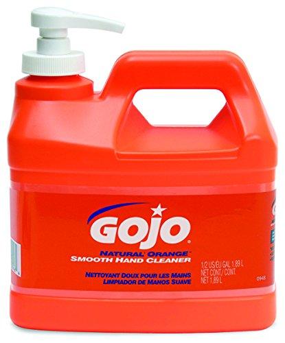 Gojo Hand Cleaner Orange Smooth Formula 1/2 Gal. Plastic Bottle