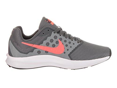 Nike Dames Downshifter 7 Cool Grijs / Lava Glow / Dark Grey Hardloopschoen 9.5 Dames Wij