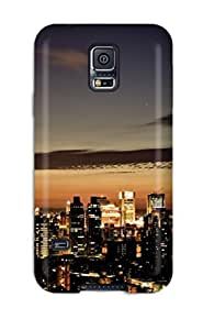 OIlIHbW5871zNzfV Anti-scratch Case Cover CaseyKBrown Protective Taipei Skyline Case For Galaxy S5