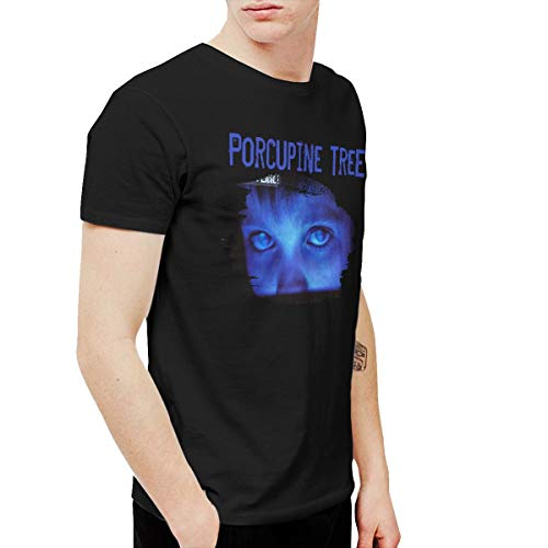 AlexisW Porcupine Tree Fear of A Blank Planet Men's T Shirt Black XXL (Porcupine Tree T Shirt)