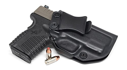 Concealment Express Iwb Kydex Holster  Fits Springfield Xd S 3 3  9Mm 40Sw 45Acp   Us Made   Inside Waistband Holster   Adj  Cant   Retention  Black   Right Hand