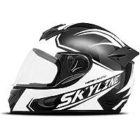 Capacete Mixs MX2 Skyline 56 Preto/Branco