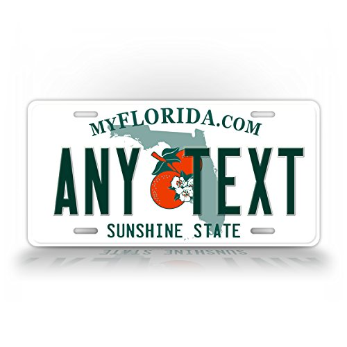 CUSTOM FLORIDA License Plate