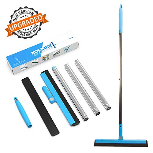 KOLLIEE Floor Squeegee Adjustable