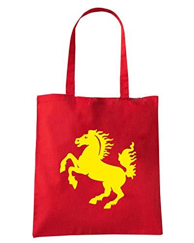 Shopper Speed Shirt Rossa ARMS STUTTGART Borsa COAT TSTEM0255 OF xzRqnT6x