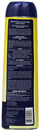 Sergeant's Gold Flea and Tick Shampoo for Cats, 12 oz by Sergeant's (Image #1)
