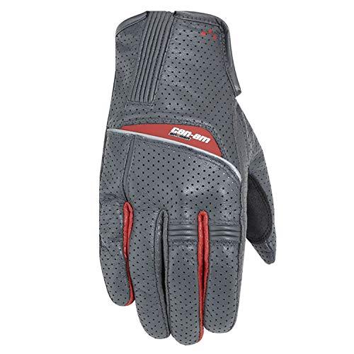Can-Am New OEM Sypder Roadster Men's Respirtator Gloves Grey Large, 4462300924