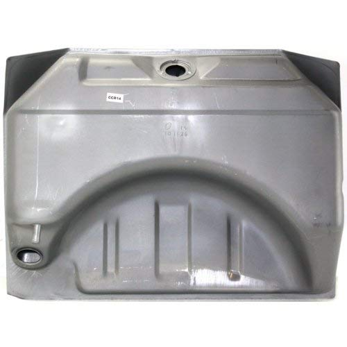 Fuel Tank Compatible with DODGE CHARGER 1966-1967 Steel Silver 19 Gallons/72 Liters 34-3/8 X 26 X 9-3/8 in. with ()