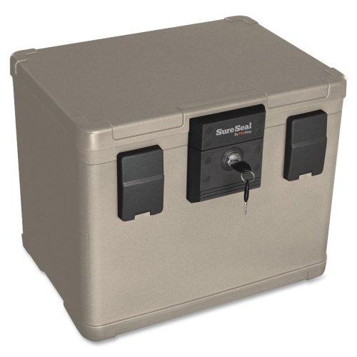 Wholesale CASE of 2 - FireKing SureSeal .6cu ft. Media Fire File Chest-Media File Fire Chest, Ltr, Waterproof, 6 Cu Ft, ()