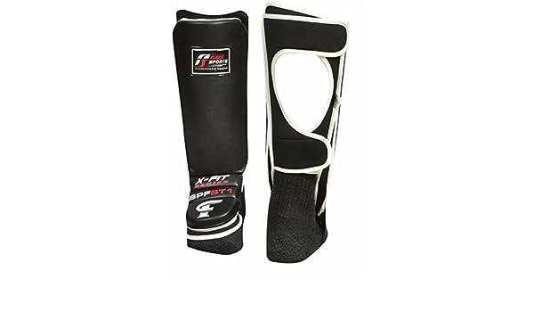 Flare Shin Instep Protectors Foot Legs Guards Pads Kick Boxing MMA Muay Thai
