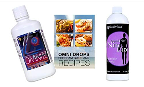 Omni Drop Program Bundle *GET Started Package* (Includes: Omni Drops w/Program Guide, Omni IV w/Glucosamine, OmniTrim Nite Lite)