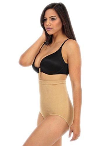 Women's Shapewear Panties with Bra Strap (S/M)