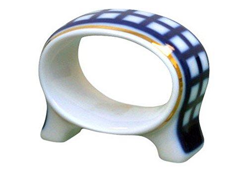 Lomonosov磁器ナプキンリングコバルトセル   B01GHZOVFG