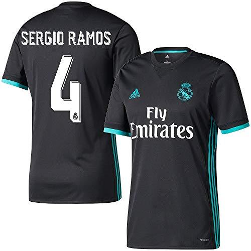 the latest ce1ef bd299 adidas Real Madrid Away Sergio Ramos Jersey 2017/2018 ...