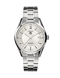TAG Heuer Men's Carrera Automatic Stainless Steel Watch Silver WV211A.BA0787