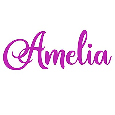 Personalized Name Wall Vinyl Decal Sign 12