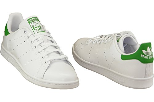 ... adidas Originals Stan Smith M203, Sneakers Unisex - Adulto Bianco/Verde