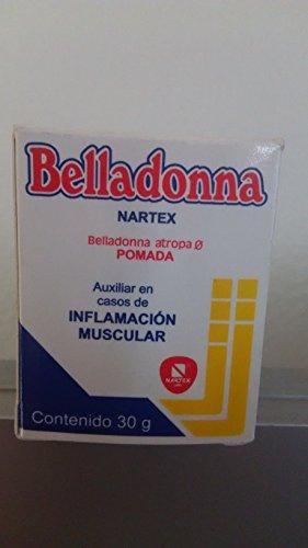 Belladona Pomada Inflamacion Muscu .