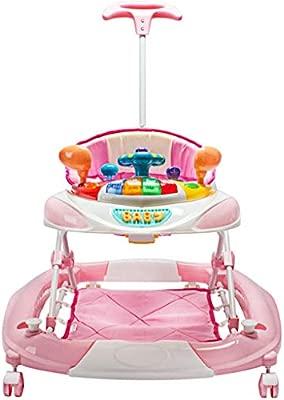 Meen Andador De Bebe, Multifuncional Baby Walker Lado Antivuelco ...