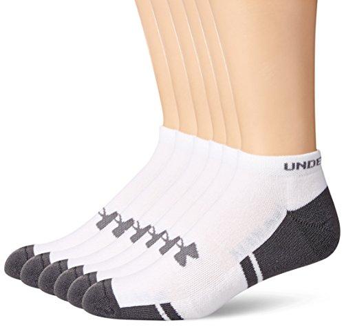 Under Armour Men's Resistor No-Show Socks 6-Pack