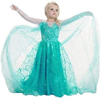 Treccia Elsa Carnevale Bambina Accessorio Cosplay Per Travestimenti E Costume Principessa Dei Ghiacci Da 6-10 Anni Idea Regalo Per Natale O Compleanno