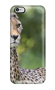 Case Cover Protector For iphone 5c Cheetah Looks Window Close Case