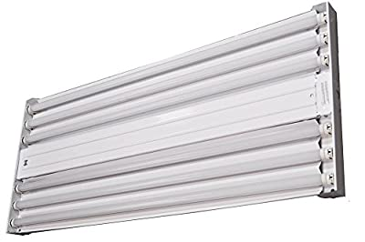 (10-Pack) Orilis 144 Watt 4 Ft. 6 Light Lamp T8 LED High Bay Warehouse, Shop, Commercial Light Fixture - 6500K - 18000 Lumen