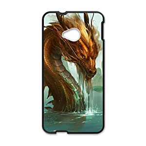 Ferocious dragon Cell Phone Case for HTC One M7