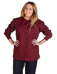 M&M Scrubs Women's Scrub Jacket Medical Scrub Jacket
