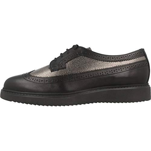 D Color E Para Geox Mujer Geox c9b1g Mujer Negro Marca Zapatos Negro Thymar Modelo 1czZWz