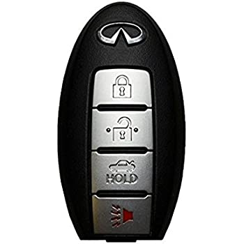 Amazon.com: 4 Button 2014 2015 Infiniti Q50 Smart ...