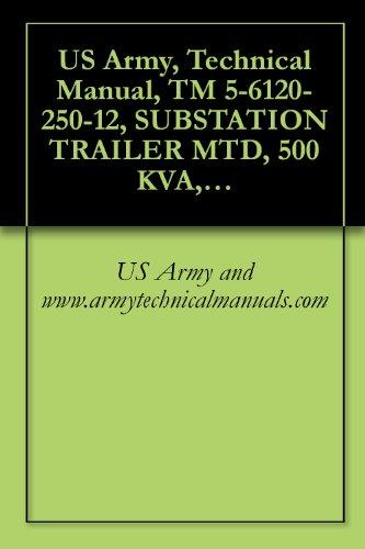 3 Kva Models (US Army, Technical Manual, TM 5-6120-250-12, SUBSTATION TRAILER MTD, 500 KVA, AC, 4160-416Y/240 V; 208Y/120 V, 3 PHASE, HZ, (AVIONICS MODEL 950-2200A))