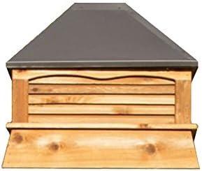 YardCraft Select Series Cedar Rectangle Cupola