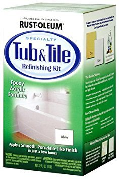 Rust-Oleum 7860519 4 Pack White Bathtub & Title Refinish Paint ()