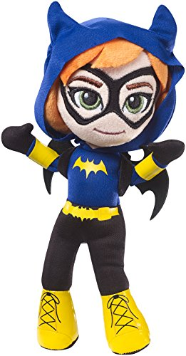 DC Super Hero Girls Mini Batgirl Plush Doll]()