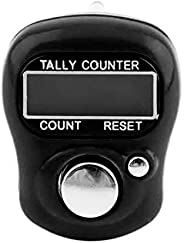 Deft DesignDigital Finger Counter Stitch Marker and Row Counter LCD Electronic Digit Finger Ring Clicker Timer