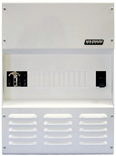 Magnum Energy MPSL250-60S Model MPSL-60S Single Panel Enclosure, Low Capacity; Includes: One DC breaker 250A, One 60A AC bypass breaker, 500A/50mv DC shunt, Inverter AC input protection and Inverter ()