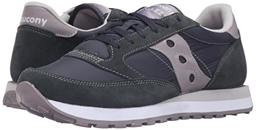 Saucony Jazz Original, Color: Charcoal/G, Size: 37.5 EU (5.5 US / 4.5 UK)