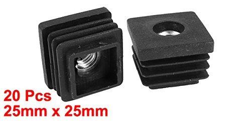 Amazon.com: eDealMax Square Caps Zona Muerta Conteras 7 mm de rosca ...