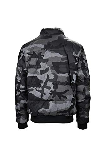 Uomo Men's Camouflage Reversable Jacket Giaccone Woolrich Giacca qSIX1
