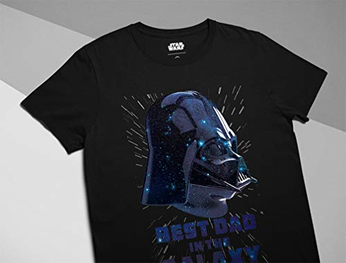 Best Dad in The Galaxy Galactic Empire Star Wars Darth Vader Official T-Shirt