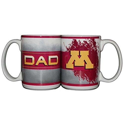 Memory Company Minnesota Golden Gophers 15oz Ceramic Mug - Dad