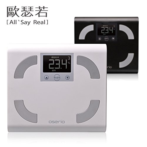 OSERIO Chinese Body Fat Monitor FFP-329 (Black) by OSERIO