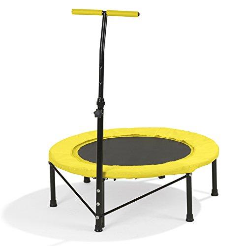 VITALmaxx Fitness-Trampolin, gelb - B-Ware