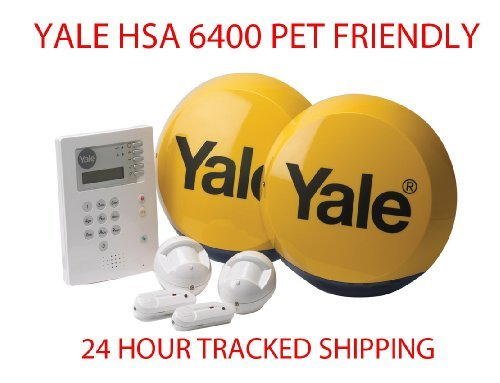 Yale HSA 6400 Premium PET FRIENDLY Telecommunicating Alarm System Wireless...