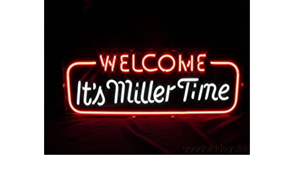 "New Miller Lite Palm Tree Beer Neon Sign 20/""x16/"""
