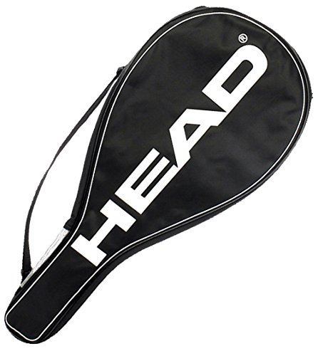 HEAD Tennis Racquet Cover Bag - Lightweight Padded Racket Carrying Bag w/ Adjustable Shoulder Strap (Best Tennis Racquet For Kids)