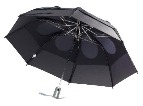 GustBuster Metro Automatic Folding Umbrella Windproof, Compact & Portable 43-Inch...