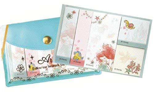 Delfino Disney Ariel Little Mermaid Little Mermaid Princess Sticky Note with Pouch DZ-79697